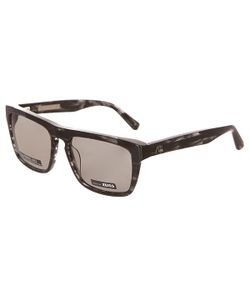 Quiksilver | Очки The Ferris M.O Shiny Black Havana/Grey