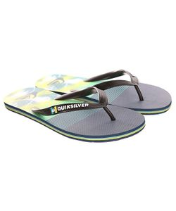 Quiksilver | Вьетнамки Molokai Ag47 Re Sndl Black/Blue/Green