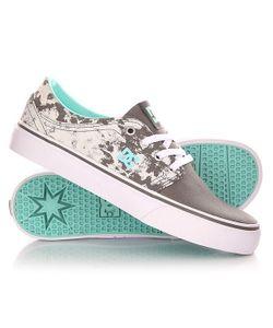 Dcshoes | Кеды Кроссовки Низкие Женские Dc Trase Tx Se J Shoe Grey/Black/White