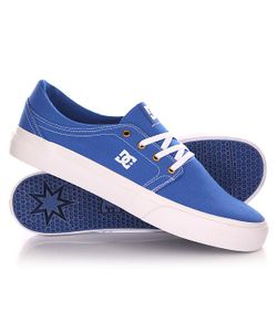 Dcshoes | Кеды Кроссовки Низкие Dc Trase Tx Shoe Blue/White