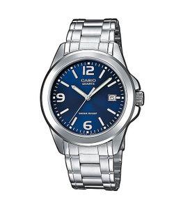 Casio | Кварцевые Часы Collection Mtp-1259pd-2a Grey/Blue