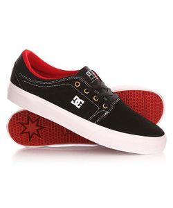 Dcshoes | Кеды Кроссовки Низкие Dc Trase S Black/White/True Red