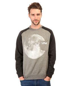 Gnu | Толстовка Классическая Forest Moon Crew Charcoal