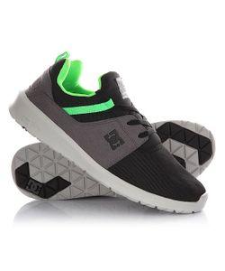 Dcshoes   Кроссовки Dc Heathrow M Shoe Black/Grey/Green