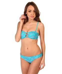 Roxy | Купальник Женский Knotted Bandeau Jungle Zig Zag Combo