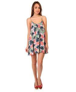 Roxy | Платье Женское Windy Fly Away Beach Palm Combo Ros