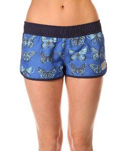 Roxy | Шорты Пляжные Женские Coastal Getaway Watercolour Butterfly