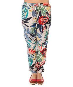 Roxy | Штаны Прямые Женские Sunday Canary Islands Floral