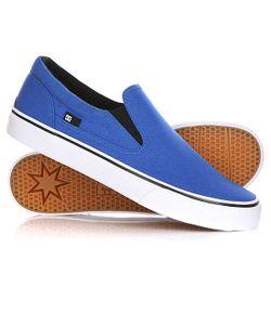 Dcshoes | Слипоны Dc Trase Slip-On Tx Blue