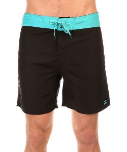 Billabong | Шорты Пляжные All Day Shortcut 17 Black/Aqua