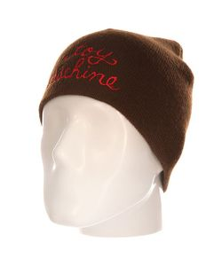 Toy Machine | Шапка Script Embosed Beanie Brown