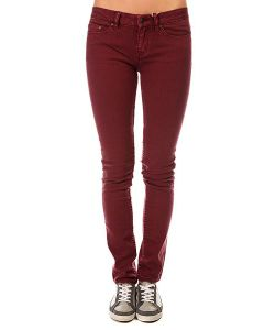 Insight | Джинсы Узкие Женские Beanpole Skinny Plain Colours Wino Red