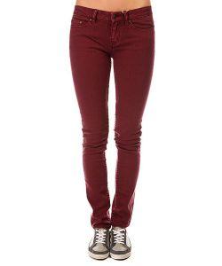 Insight | Джинсы Узкие Женские Beanpole Skinny Plain Colours Wino Red