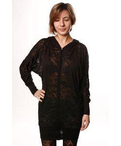 Insight | Платье Женское Warhol Whinge Hoodie Black
