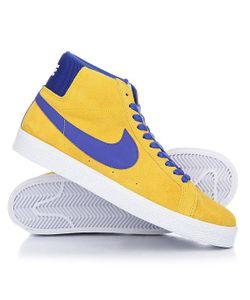 Nike | Кеды Кроссовки Высокие Sb Blazer Zoom Mid Tour Deep Night-