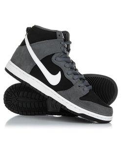 Nike | Кеды Кроссовки Высокие Sb Zoom Dunk High Pro Dark