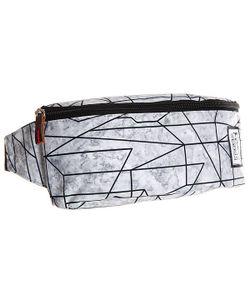 The Pack Society | Сумка Поясная Bum Bag Geometric Marble Allover