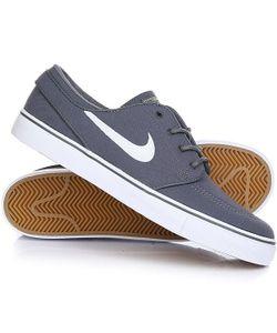 Nike | Кеды Кроссовки Низкие Zoom Stefan Janoski Cnvs Dark