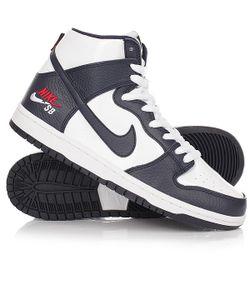 Nike | Кеды Кроссовки Высокие Sb Zoom Dunk High Pro Obsidian/