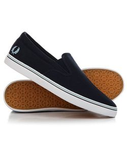 Fred Perry | Слипоны Underspin Slip On Canvas Navy