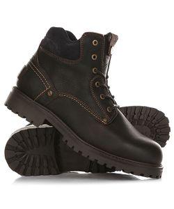 Wrangler | Ботинки Зимние Yuma Leather Fur Dark
