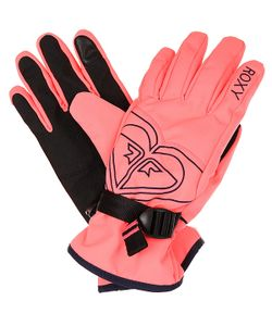 Roxy | Перчатки Poppy Gloves Neon Grapefruit