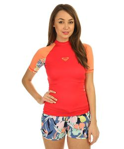 Roxy | Гидрофутболка Женская Xy Ss Tomato Red