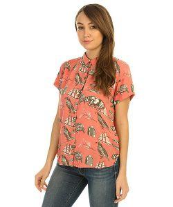 Roxy   Рубашка Женская Vista Point Giant State Symbols