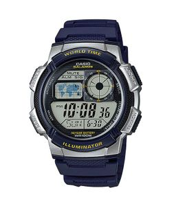 Casio | Электронные Часы Collection Ae-1000w-2a Blue/Grey