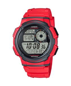 Casio | Электронные Часы Collection Ae-1000w-4a Red/Black