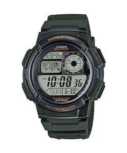 Casio | Электронные Часы Collection Ae-1000w-3a Green/Black