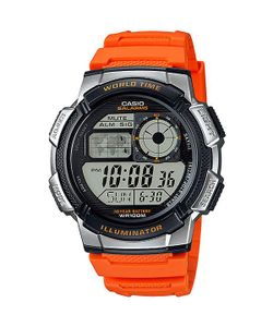 Casio | Электронные Часы Collection Ae-1000w-4b Orange/Black/Grey