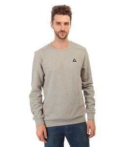 Le Coq Sportif | Толстовка Свитшот Bagic Crew Sweat Light Heather Grey