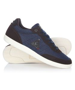 Le Coq Sportif | Кеды Кроссовки Низкие Acecraft Denim/Suede Dress Blue/Reglisse