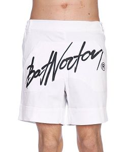 Bat Norton | Шорты Unisex Basic Shorts White
