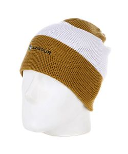 Armour | Шапка Носок Stripe Beanie Brown/White