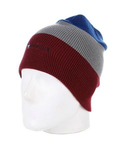 Armour | Шапка Носок Stripe Beanie Red/Grey