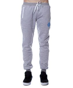 Pyromaniac | Штаны Fitted Sweat Pants Heather Grey