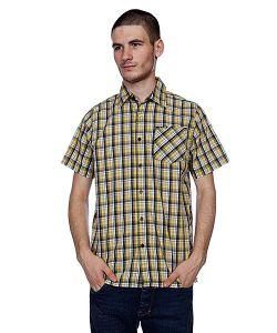 Animal | Рубашка В Клетку Scarriff Yellow