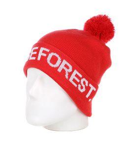 Terror | Шапка С Помпоном Dense Forest Red