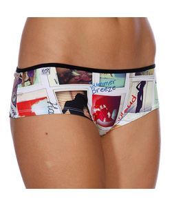69Slam   Трусы Женские Microfib Polaroids M-Short