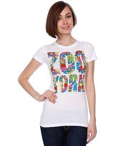 Zoo York | Футболка Женская Wham Tee White