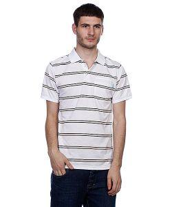 Enjoi   Поло Pop Your Collar Striped White