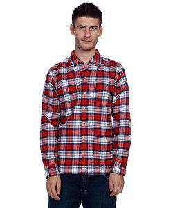 Dickies | Рубашка В Клетку Flannel Stc/Fred/Navy