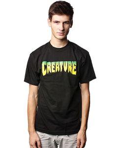 Creature | Футболка Logo Black