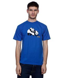 Enjoi | Футболка Piggyback Pandas Royal Blue