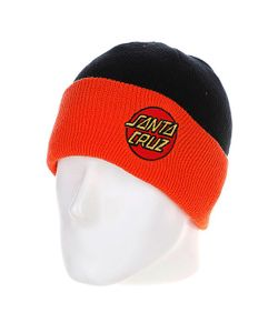 Santa Cruz | Шапка Classic Dot Shoreman Black/Orange