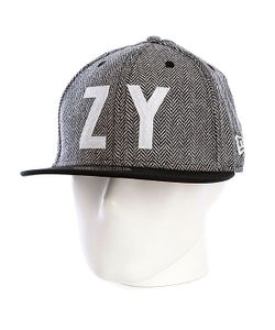 Zoo York | Бейсболка New Era Ellis Fitted Newera Black