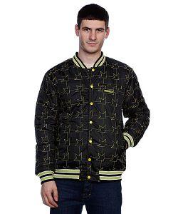 Dekline | Куртка Бомбер Team Jacket Black/Green