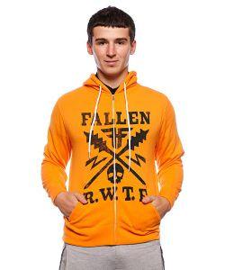 Fallen | Толстовка Territory Zip Hood Orange/Black